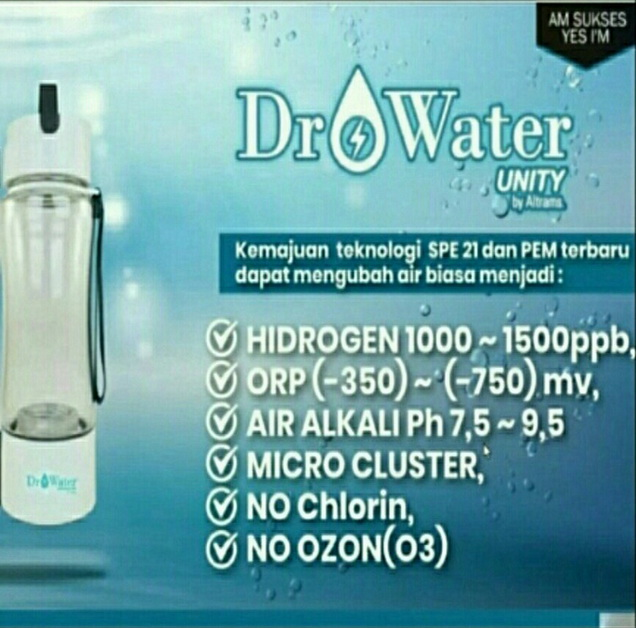 dr water unityyy